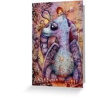 little may and misty the magic dragon Greeting Card