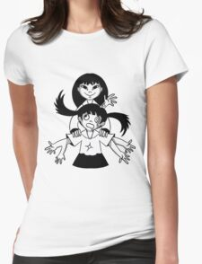 Monochrome Sisters Womens Fitted T-Shirt