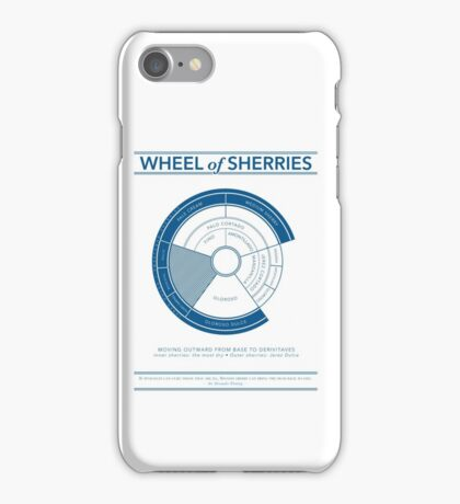 The Wheel of Sherries iPhone Case/Skin
