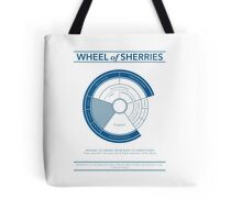 The Wheel of Sherries Tote Bag