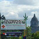 Olympia  Hempfest by FloraDiabla