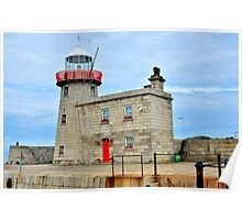 Howth Harbour Lighthouse Poster