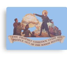 BioShock Infinite – The Prophet Leads His People Out of the Sodom Below Canvas Print