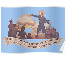 BioShock Infinite – The Prophet Leads His People Out of the Sodom Below Poster