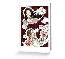 Hannibal-- Cherry Blossoms Greeting Card