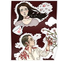 Hannibal-- Cherry Blossoms Poster