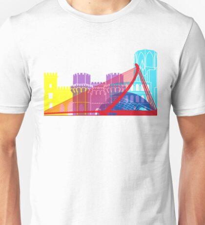 Valencia skyline pop Unisex T-Shirt