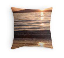 Swansea Sunrise Throw Pillow