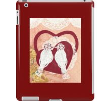 Love Birds Paper Collage iPad Case/Skin
