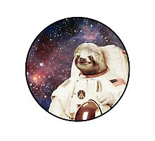 Astro Sloth Photographic Print