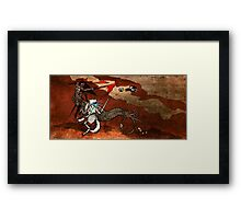 Part 21 - Shattering Bones Framed Print