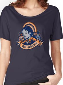 Our Lady Of Science Women's Relaxed Fit T-Shirt