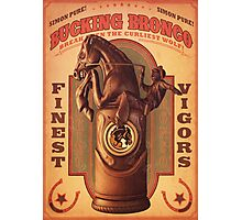 BioShock Infinite – Bucking Bronco Poster Photographic Print