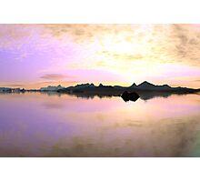 New Dawn (original render) Photographic Print