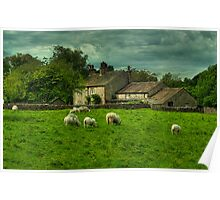 Sheep May Safely Graze Poster
