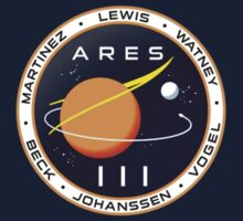 Ares 3 mission to Mars - The Martian (Badge) by hopography