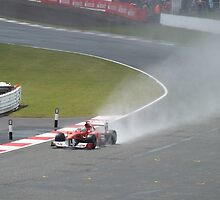 Fernando Alonso by Matt Eagles