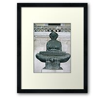Statue by Ivan Mestrovic Framed Print