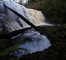 Dip Falls Fisheye by Damon Colbeck