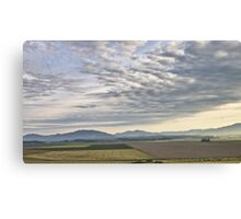 Skagit valley farmlands Canvas Print