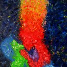 The Kissing by Gunes Yilmaz