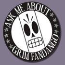 Ask Me About Grim Fandango T-Shirt by Reediculous12