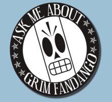 Ask Me About Grim Fandango T-Shirt One Piece - Short Sleeve