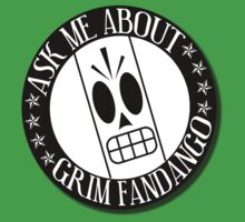 Ask Me About Grim Fandango T-Shirt Kids Tee
