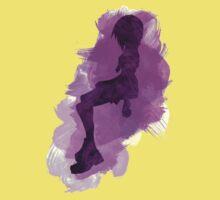 Kingdom Hearts: Watercolor Kairi One Piece - Short Sleeve