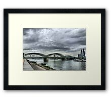 The Hohenzollen Bridge  Framed Print
