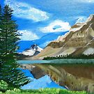 Mountain Landscape by maggie326