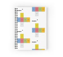 Easy cubed Spiral Notebook