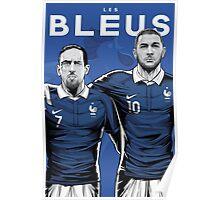 Les Bleus Poster