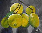 Fresh Lemons by Jim Phillips