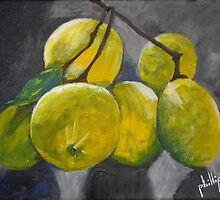 Fresh Lemons by Jim Phillips