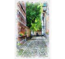Lier - Picturesque Beguinage Street - Belgium Photographic Print