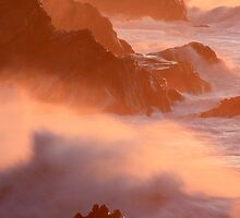 Ocean on Fire by aussiedi