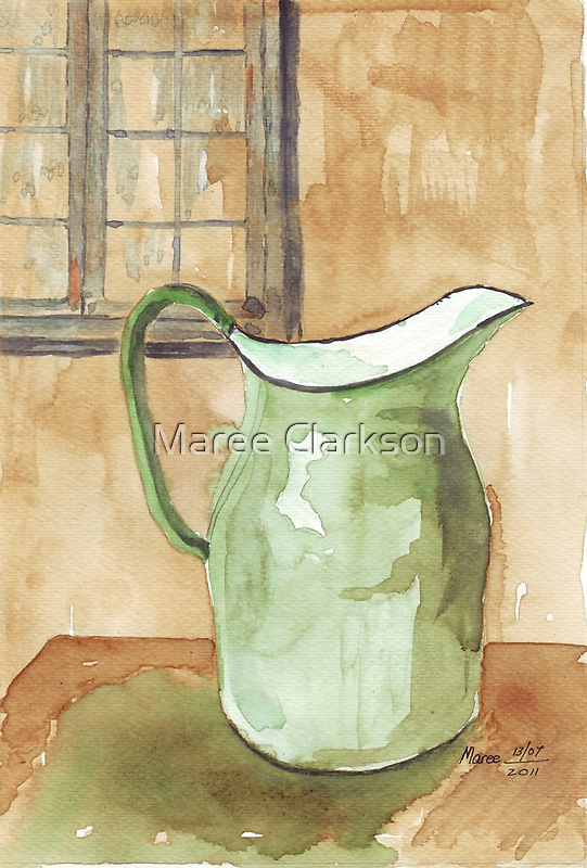 """""""Little pitchers have big ears""""  by Maree  Clarkson"""
