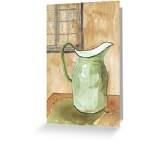 """""""Little pitchers have big ears""""  Greeting Card"""