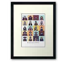 Coenville Framed Print