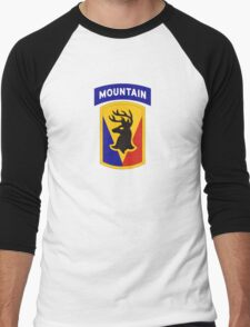 86th Infantry Brigade Combat Team 'The Vermont Brigade' (Mountain) US Army Men's Baseball ¾ T-Shirt