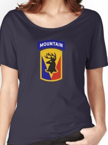 86th Infantry Brigade Combat Team 'The Vermont Brigade' (Mountain) US Army Women's Relaxed Fit T-Shirt