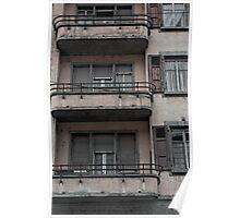 gloomy facade Poster
