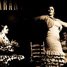 flamenco dancer, barcelona by josephiam