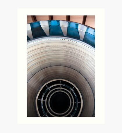 SR-71 Blackbird Engine-Kansas Cosmosphere and Space Center Hutchinson, KS Art Print