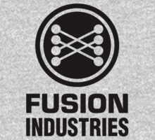 Fusion Industries (Black Print) - Back to the Future by TGIGreeny