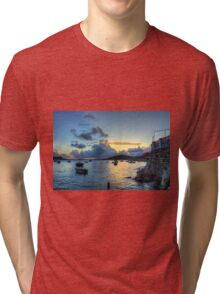Storm Clouds at Sunrise Tri-blend T-Shirt