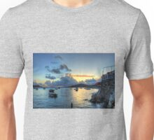Storm Clouds at Sunrise Unisex T-Shirt