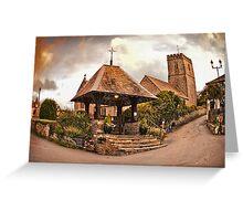 St Mary Church - Mortehoe - N Devon Greeting Card