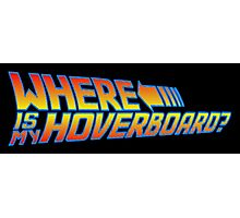 Where is my Hoverboard? Photographic Print